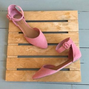Bamboo dusty pink sandals size 6